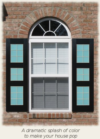 Contemporary Style Shutters
